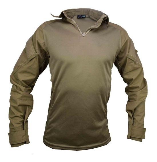 Camisa Masculina T-shirt Combat Militar Reforçada Ripstop