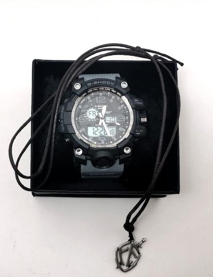 Relógio G-shock Masculino 100% Funcional + Brinde