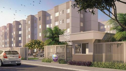 Imagem 1 de 30 de Apartamento Com 2 Quartos À Venda, 42,28m², Área De Lazer, 1 Vaga, Financia - Eusébio/ce - Ap1730