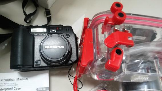 Olympus C5050 Kit Câmera Mergulho Caixa Estanque