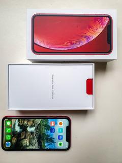iPhone Xr 128gb Vermelho - Completo, Perfeito + Acessórios