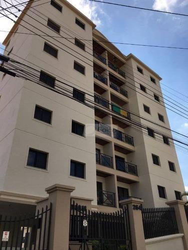Apartamento Com 2 Dormitórios À Venda, 65 M² Por R$ 280.000 - Jardim Refúgio - Sorocaba/sp - Ap0711
