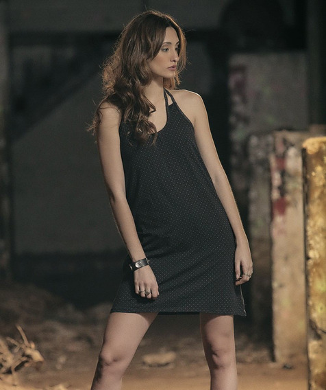 Vestido Urbano Jersey Negro