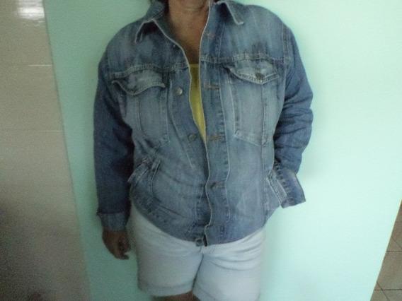 Jaqueta Jeans Unissex Horizon Antiga Tamanho 46 Muito Boa
