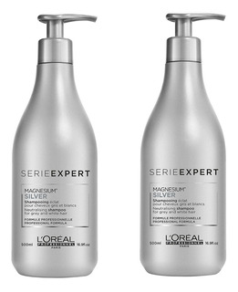 2 Shampoo Silver Loreal 500ml