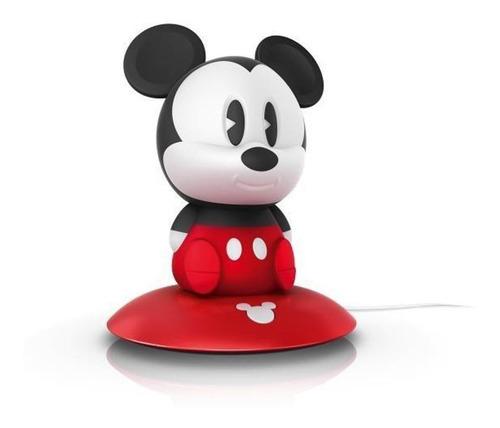 Disney Philips 717093016 Lampara Mesa Noche Led Mickey Mouse