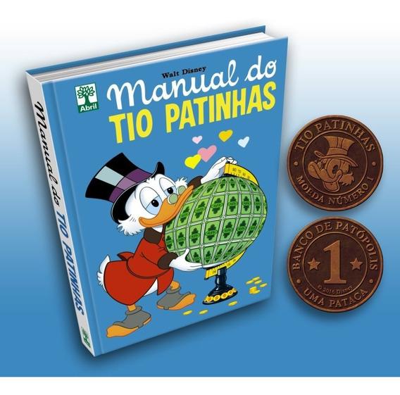 Hq Manual Do Tio Patinhas Disney Moeda Pataca + Frete Grátis