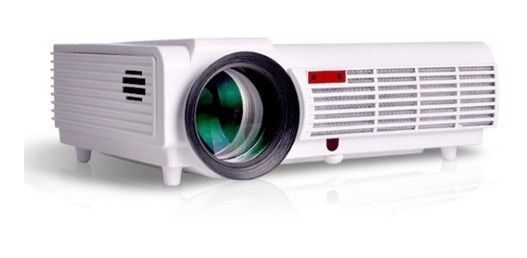 Projetor Led 3000 Lumes 3d 1280p Ful Hd Android Led96 Wifi