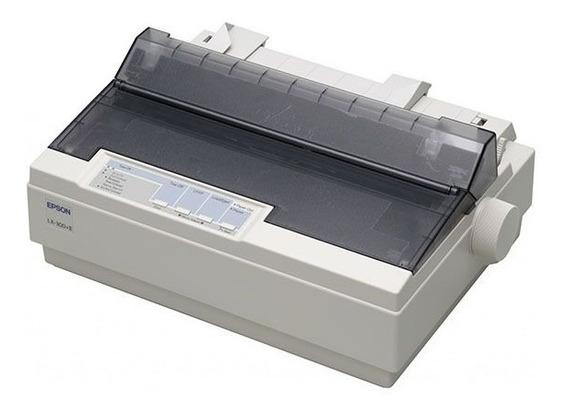Impressora Matricial Epson Lx-300+ll Serial Usb Paral. Usada