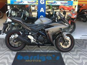 Yamaha R3 321 Abs 2017 Cinza Moto De Mostruário 0km