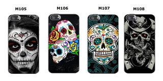Capinha Caveira Mexicana Skull - Cel Galaxy A5 A7 2017