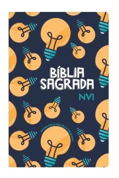 Bíblia Sagrada Jovem Nvi Grande - Capa Especial Lâmpada