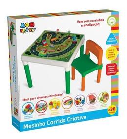 Mesa Mesinha Infantil Corrida Criativa
