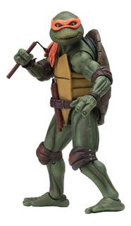 Tmnt Tortugas Ninja Movie 1990 Michelangelo N.e.c.a. Neca