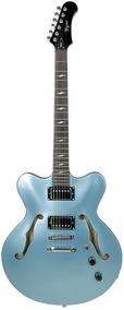 Guitarra Tagima Semi Acústica Seattle Azul - Acompanha Case