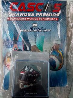 Colección Grandes Premio Cascos Formula 1 N°29 Adrian Sutil