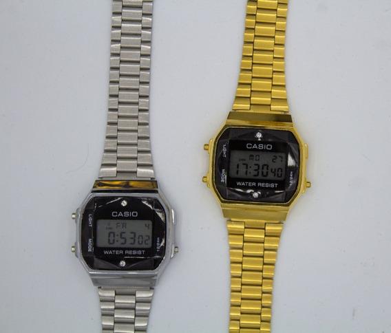 Relógio Feminino Masculino Cásio Vintage Diamonds Tops