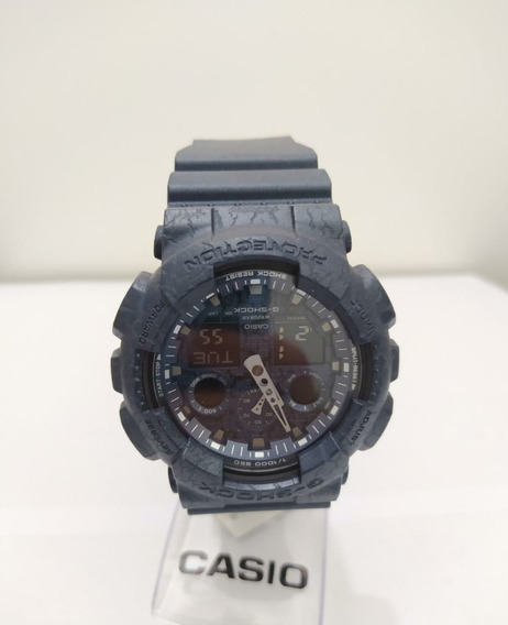 Relógio Casio G-shock Maculino Cracked Casio Ga-100cg-2adr