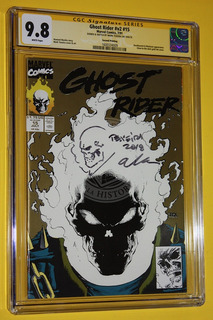 Vintage Ghost Rider V2 #15 7/91 Marvel Comics Sealed Cgc