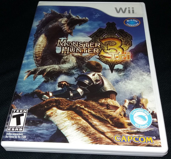 Monster Hunter 3 Tri - 100% Original Nintendo Wii