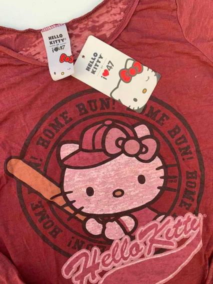 47 Street Remera Hello Kitty Manga Larga