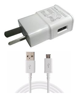 Cargador Pared 5v 2a Cable Usb Samsung S3 S4 S5 S6 S7 Edge
