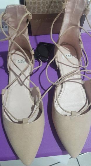 Zapatos Zara Baratos Nuevos Flats