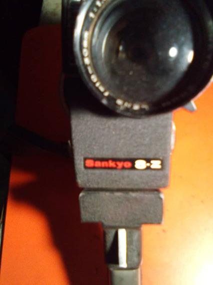 Filmadora Vintage Sankyo 8-z