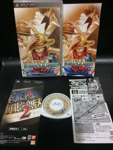 Juego Psp One Piece Romance Dawn