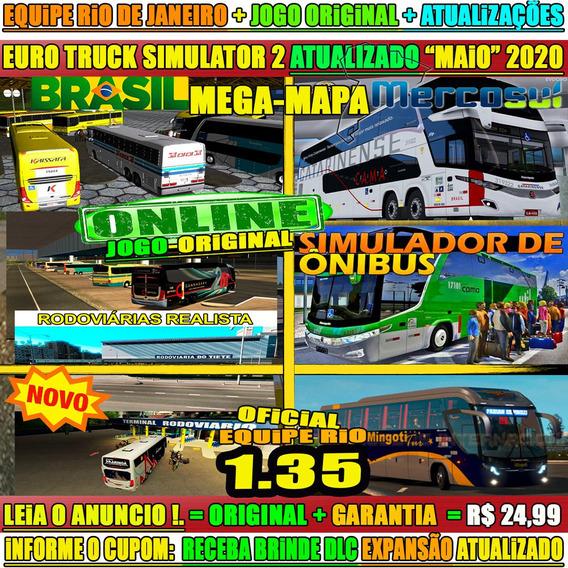 Euro Truck Simulator 2 Pc Brasil Mod Bus 700 Cids Novo 2020