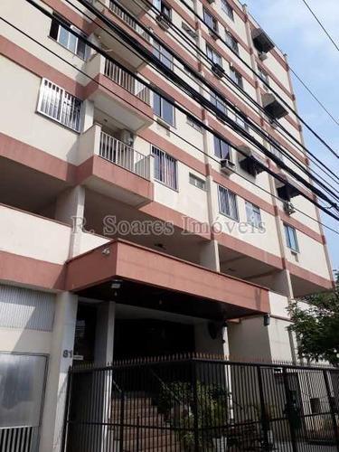 Bom Apartamento, 2 Quartos Com Dependência Colado À Praça Do Valqueire - Vvap20464