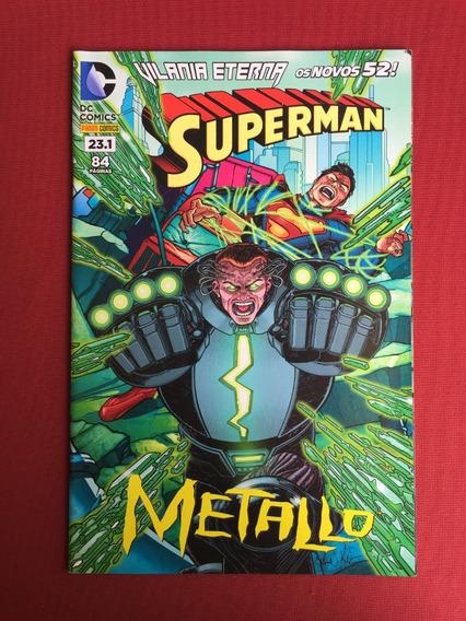 Hq - Superman - Volume 23.1 - Metallo - Panini - Seminovo