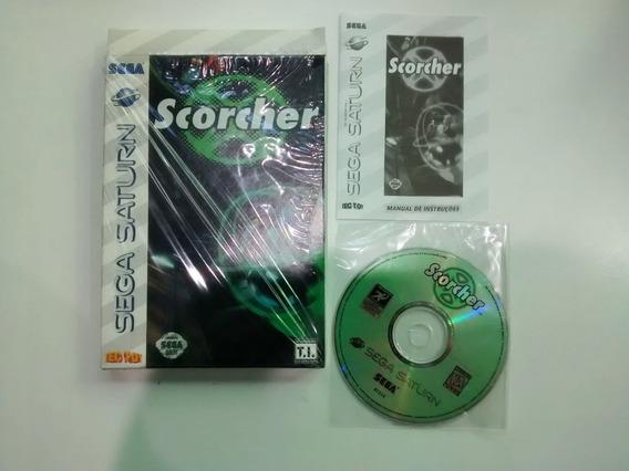 Scorcher Original Com Caixa - Sega Saturn