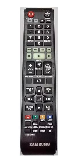 Controle 02418a Todos Home Theater Samsung Dvd Com Karaoke