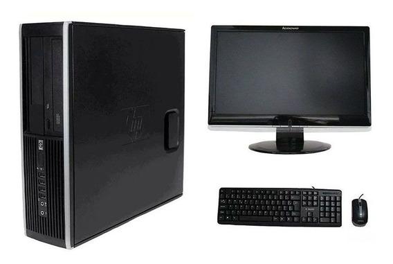 Pc Computador Hp Elite 8200 I5 4gb 320hd Monitor 18 Polegadas