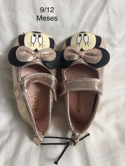 Zapatos Minnie 9/12 Meses