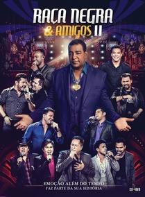 Raça Negra & Amigos 2 Ao Vivo - Dvd + Cd - Digipack