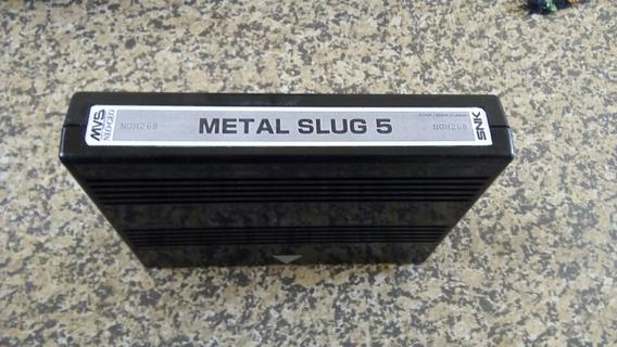 Metal Slug 5 Bootleg Para Neo Geo Mvs