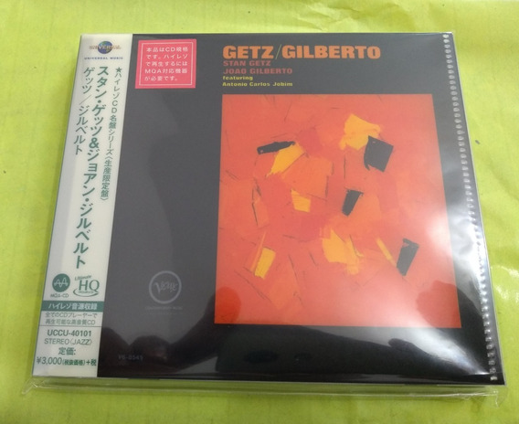 Getz / Gilberto [hi-res Cd (mqa X Uhqcd)] [limited Release]