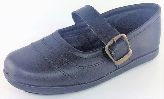Guillermina Colegial Zapato Hebilla Niñas 21 Al 33 Art 132