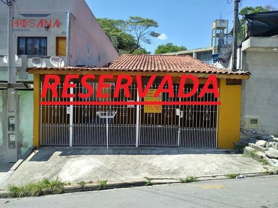 Casa Com 3 Dormitórios Para Alugar, 120 M² Por R$ 1.200,00/mês - Vera Tereza - Caieiras/sp - Ca0522