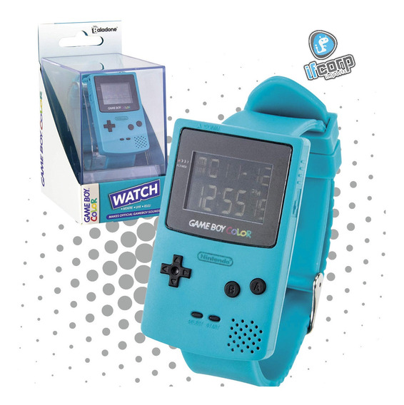 Reloj Game Boy Color Licencia Oficial Nintendo