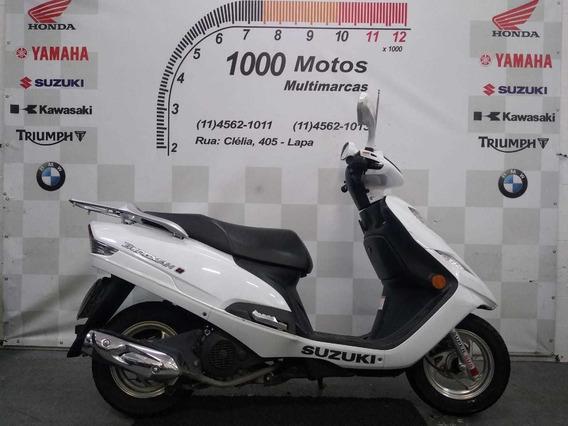 Suzuki Burgman 125 I 2018 Otimo Estado Aceito Moto