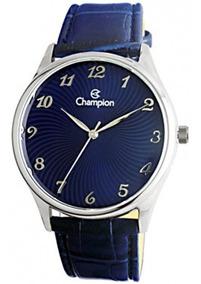 Relógio Feminino Champion Cn20551f Pulseira Couro - Barato