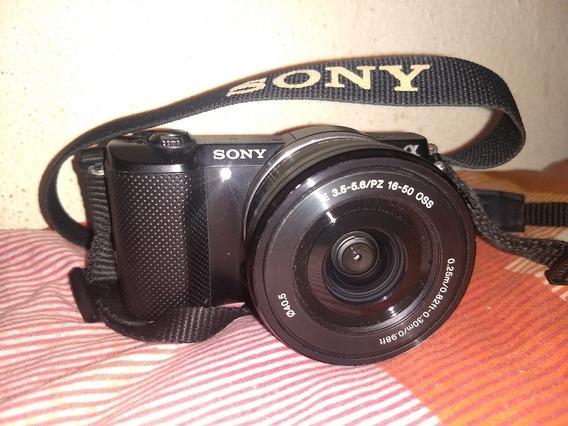 Sony Lice A 5000 Bolsa Lente Memória Só 6714 Cliks