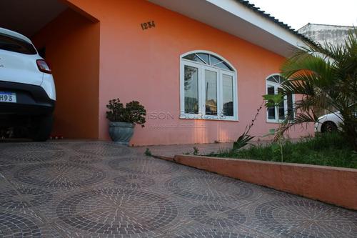 Casa Com 4 Dormitórios À Venda Com 544m² Por R$ 599.000,00 No Bairro Uberaba - Curitiba / Pr - Eb+11015