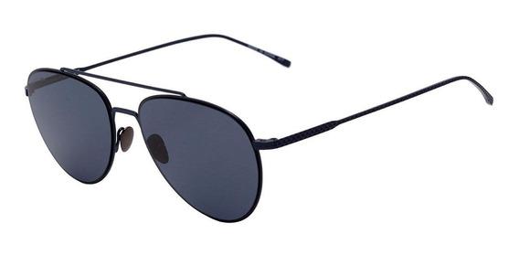 0lacoste L 195 S - Óculos De Sol 424 Azul Fosco/ Azul