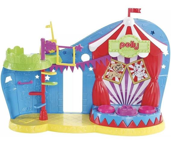 Polly Pocket Circo Da Polly Boneca E Bichinhos Fry95 Mattel