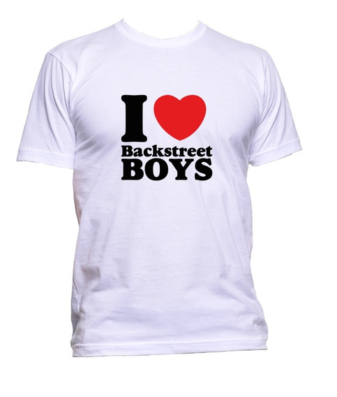 Polera Backstreet Boys I Love