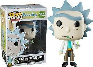 Funko Pop! Exclusivo - Rick With Portal Gun #114